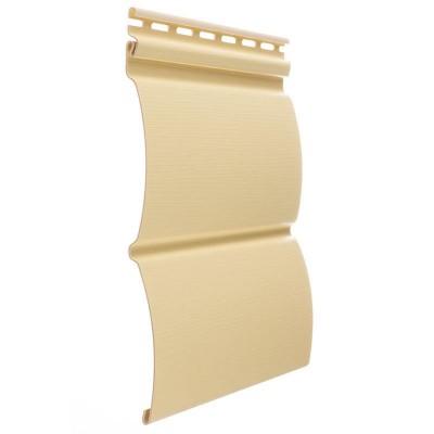 Сайдинг виниловый блок-хаус D4,7T (банан)