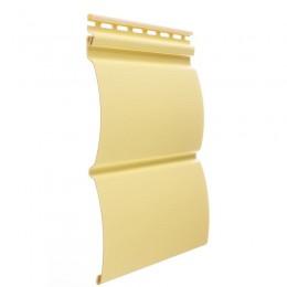 Сайдинг виниловый Блок-хаус D4,7T (лимон)