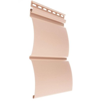 Сайдинг виниловый блок-хаус D4,7T (персик)