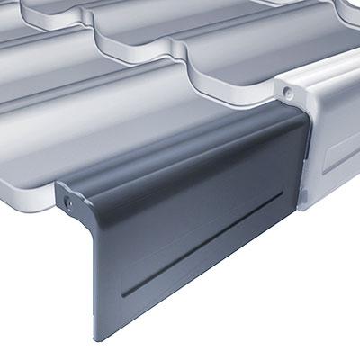 Модульная накладка фронтона для Венеции заводская Будмат левая 0.7мм (X-MATT)