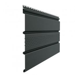Софиты серии Premium T4 с центральной перфорацией (графит)