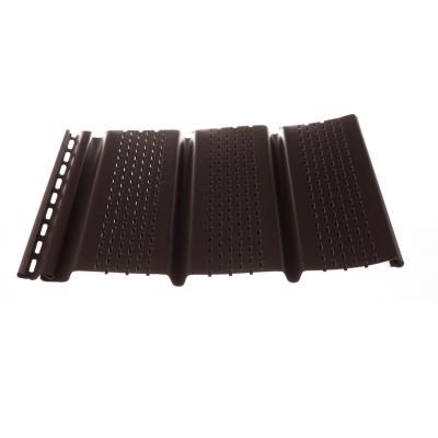 Софит с перфорацией Döcke Premium T4 (шоколад)