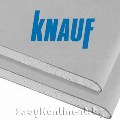 Гипсокартон Кнауф (Knauf) ГКЛ обычный 3000x1200x9,5