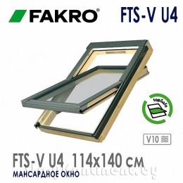 Мансардное окно FAKRO FTS-V 114x140