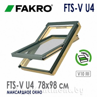 Мансардное окно FAKRO FTS-V 78x98