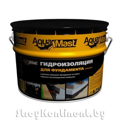 Мастика гидроизоляционная битумная холодная AguaMast, 10кг