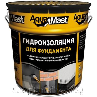 Мастика гидроизоляционная битумная холодная AguaMast, 18кг