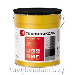 Мастика гидроизоляционная ТехноНИКОЛЬ №24 «МГТН», 20кг
