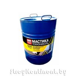 Мастика гидроизоляционная ТехноНИКОЛЬ №24 «МГТН», 50кг