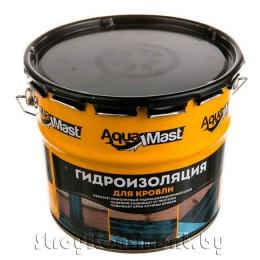 Мастика кровельная и гидроизоляционная битумно-резиновая холодная AquaMast, 10кг