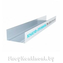 Металлический КНАУФ-профиль направляющий (ПН) 3000x75x40