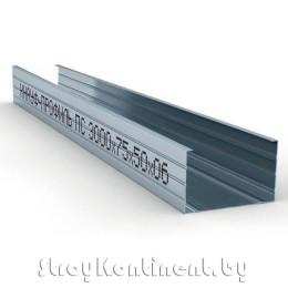 Металлический КНАУФ-профиль стоечный (ПС) 3000x75x50