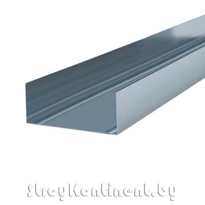 Металлический профиль направляющий (ПН) 3000x100x40