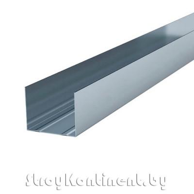 Металлический профиль направляющий (ПН) 3000x50x40
