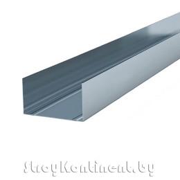 Металлический профиль направляющий (ПН) 3000x75x40