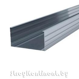 Металлический профиль стоечный (ПС) 3000x100x50