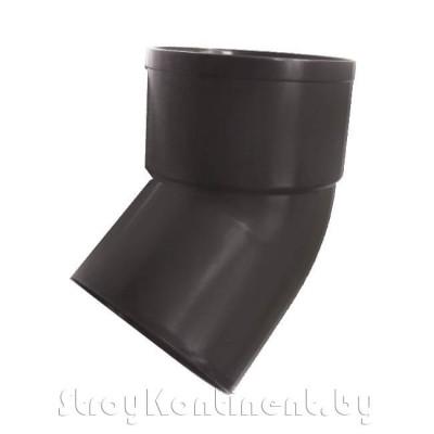 Мурол ПВХ отвод водосточной трубы 45 гр 80 мм