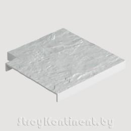 Накладка для бордюра угловая