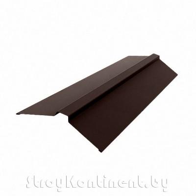 Планка конька плоского 115x30x115