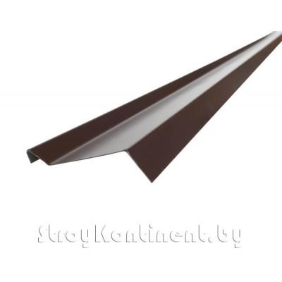 Планка примыкания (полиэстер) 10x15x45x2000 мм