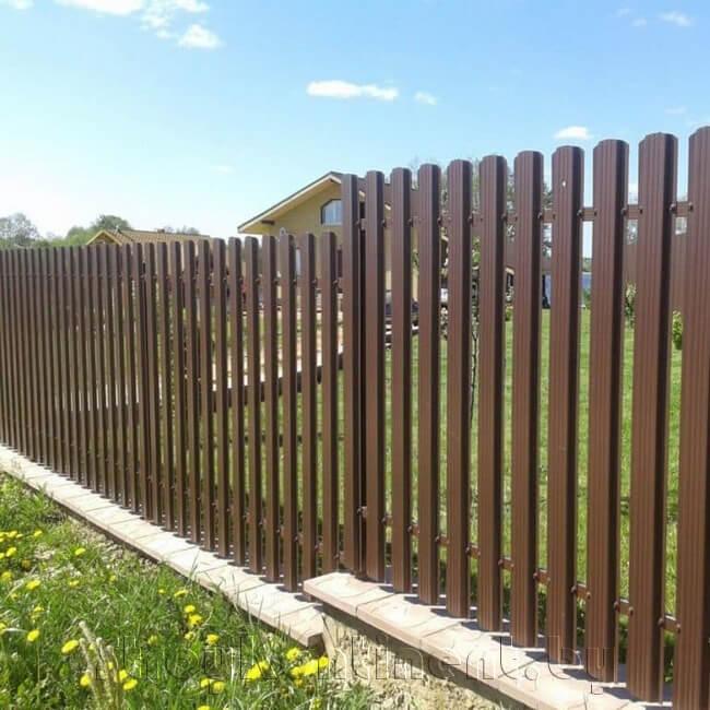 Металлический забор в Витебске
