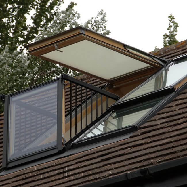 Монтаж мансардных окон и балконов в Витебске